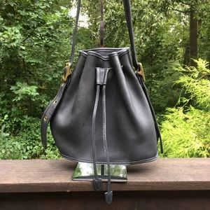 Vintage Coach Lula Legacy Bucket Bag Made In USA